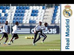 Sergio Ramos Último entrenamiento del Real Madrid para preparar el partido frente al Almería