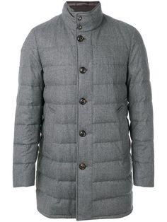 MONCLER Vallier coat. #moncler #cloth #grey