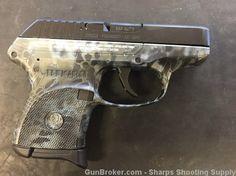 Ruger LCP 380 Kryptek Neptune NEW No Reserve! : Semi Auto Pistols at GunBroker.com
