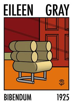 A favourite chair design of mine Eileen Gray, 1920s Furniture, Art Deco Furniture, Furniture Styles, Classic Furniture, Modern Furniture, Movement In Architecture, Study Architecture, Composite Adirondack Chairs
