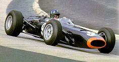1965 Graham Hill, Owen Racing Organization Team, BRM P261, Engine BRM V8 cylinder, DOHC, 16 valves, 2000cc