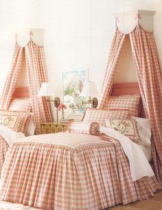 Big girl bedroom. Adorable.