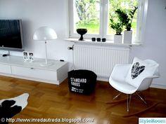 Sideboard, Ikea Brasa, Eames Rocker