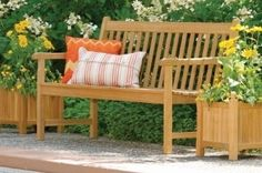 Backyard Benches-An included attraction to your Backyard gard