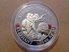 1 oz Silbermünze Somalia Elefant (Elephant) 2010 Motiv von 2009sparen25.com , sparen25.de , sparen25.info