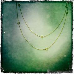 14 ct. gold necklace (90 cm.)