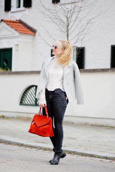 That lace blouse