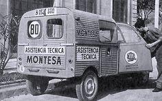 Recopilemos fotos ANTIGUAS de furgonetas clásicas (R4, AKS, DKW...) TRABAJANDO - ForoCoches