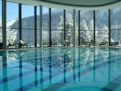 Badrutts Palace Hotel, St Moritz, Switzerland