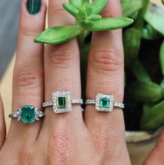 The index and middle finger rings will be coming to our website very soon… which ring is your favourite? - #londonde #diamond #emerald #diamonds #emeralds #jewellery #luxuryjewellery #bespokejewellery #ethical #hattongarden #hattongardenjewellers #jewellers #londonjewellers #ring #engagementring #cocktailring #emeraldring #diamondring #gemstone #gemstones #gemmology #preciousstones #preciousstone #jewel #gem #luxuryring #luxuryfashion Bespoke Jewellery, Luxury Jewelry, Middle Finger Ring, Cocktail Rings, Jewelry Making, Luxury Fashion, Jewels, Engagement Rings, Emeralds