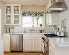как обустроить маленькую кухню на даче