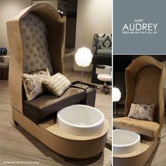 Michele Pelafas: New to Market: Audrey Pedicure Chair