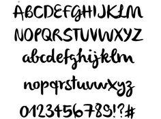 Olivier #fonts #typography #webdesign #brush #script