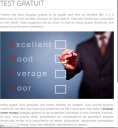 test d'anglais please click here now!