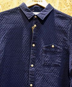 indigo Denim Shirts, Polo Shirts, Smart Casual, Casual Shirts For Men, Shirt Style, Chef Jackets, Indigo, Casual Dresses, Shirt Designs