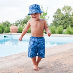 Swim Shorts with Nappy £14
