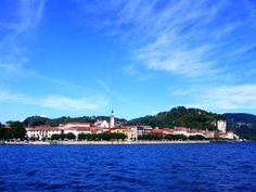 Arona Lake Maggiore Italy, Arona, Italy Holidays, San Francisco Skyline, Villa, Vacation, Travel, Italia, Italy Vacation