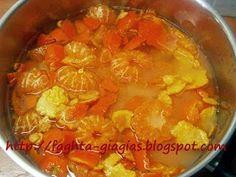 Τα φαγητά της γιαγιάς  Μαρμελάδα Μανταρίνι Marmalade, Chana Masala, Punch Bowls, Thai Red Curry, Sweet Recipes, Cookie Recipes, Food And Drink, Cooking, Ethnic Recipes