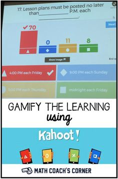 Studysync is a web based program designed to engage students in gamify your math reviews or assessments using kahoot a free online digital response tool fandeluxe Choice Image