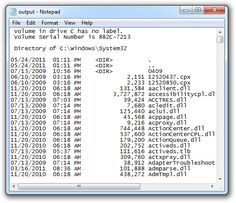21 Command Prompt Tricks & Hacks: Save a Command's Output to a File