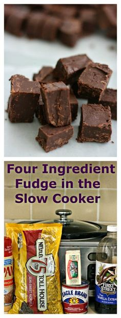 How to Make Perfect Fudge in the Slow Cooker from A Year of Slow Cooking; using the slow cooker for fudge frees up the cook to do other things! [found on SlowCookerFromScratch.com]
