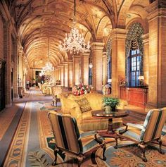 The Breakers Hotel. Designed by Schultze and Weaver. Built by Turner. Palm Beach, Florida