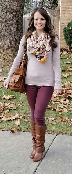 H&M floral scarf, American Eagle Denim x jeggings, and Express v-neck sweater! This is me! If you like my outfit, please follow me and subscribe to my new fashion channel! Let me help u find all the things that u love from Pinterest! https://www.youtube.com/watch?v=XSiQP5OFjXE&list=UUCP8TXebOqQ_n_ouQfAfuXw