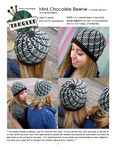 I've always wanted to design a pair of fraternal twin hats. In this crochet twin, only one color is worked at a time, switching every row. Front post double crochets are worked into stitches of rows below to create the bold lines on the surface of the work. The resulting fabric is very dense and comfortable to wear. Together, the twins are a great BFF or couple's set without being overtly 'matchy'.