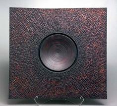 woodturning artist | Square Ceremonial Bowl #2 , 2004