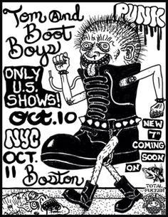 TOM AND BOOT BOYS USA TOUR 2014 | POGO77RECORDS[HARDCORE PUNK]