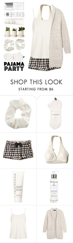 """""""Daphne"""" by brie-the-pixie ❤ liked on Polyvore featuring Topshop, Calvin Klein, Hollister Co., Chantecaille, Murdock London, The Row, Line, Couture Colour, white and summerstyle"""