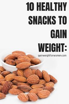 The snack is a topic that is talking about nutrition. Is it really necessary to have a snack? A snack is not a bad choice, but you have to know how to choose it properly. The snack must provide both… Continue Reading → Ways To Gain Weight, Weight Gain Journey, Gain Weight Fast, Weight Gain Meals, Weight Gain Meal Plan, Healthy Weight Gain, Lose Weight, Weight Loss, Recipes For Weight Gain