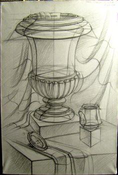 Sketching still life 2 by Sorina-Nikoleta.deviantart.com on @DeviantArt