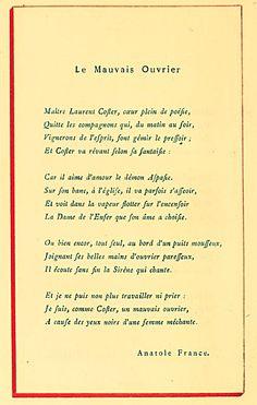 Anatole France - Le