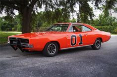 The General Lee ($TBA; auction) is the exact same car used to jump a police cruiser in the first episode. Unfortunately, it sat in a junkyard for years after its maiden — and only — voyage, until it was found, rescued, and painstakingly restored to its former hell raisin' glory.