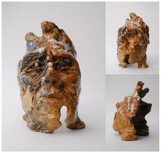 1 #art #sculpture #head #clay #glaze #ceramics #molos #morina