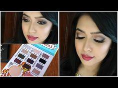 Autumn/Fall Inspired Makeup Tutorial- Balm Jovi Palette - YouTube