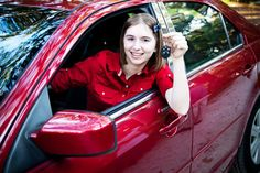 If you're just about to buy a new car, you're going to have to get car insurance. In fact, some car lots won't even let you take the car unless you get auto insurance before you leave. Getting Car Insurance, Car Insurance Rates, Driving Teen, Driving Safety, Assurance Auto, Teen Driver, Car Purchase, New Drivers, Car Buyer