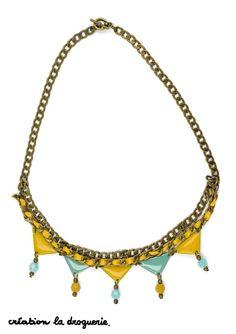 Un collier à ne pas oublier avant de partir en vacances !! #ladroguerie #bijoux #collier