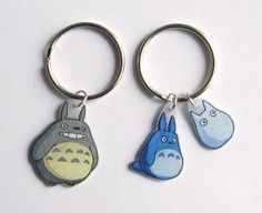 Couture, dessin, microbes: Shrink plastic Totoro More