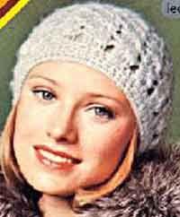 Vintage Crochet Pattern Beanie Hat scull by GrandmaHadItGoinOn Vintage Crochet, Crochet Yarn, Crochet Hooks, Free Crochet, Crochet Beanie, Knitted Hats, Country Hats, Crochet Hook Sizes, Crochet Patterns