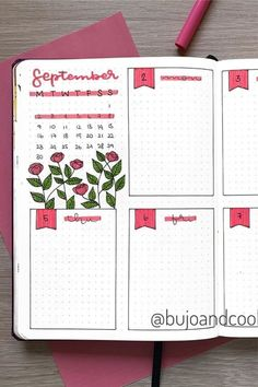 35+ Best September weekly spread ideas for bullet journals #weeklyspread #bulletjournalspreads
