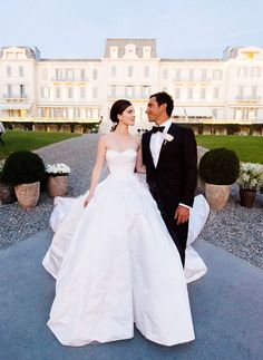 The 15 Most Gorgeous Wedding Dresses to Ever Grace the Pages of Vogue via @WhoWhatWear