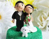 Originated in wedding cake topper and by TheRosemarryToppers