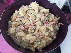 Πατατοσαλάτα Potato Salad, Potatoes, Ethnic Recipes, Food, Potato, Essen, Meals, Yemek, Eten