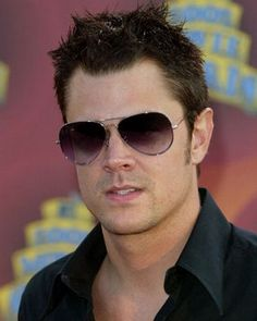 "Johnny Knoxville - he might be a ""jackass"" but he's a very cute one :-)"