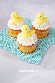 duck cup cakes