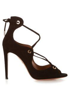 Aquazzura Tango suede sandals