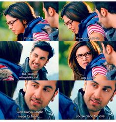 Yeh jawaani hai deewani- one of my fav scenes of the movie.