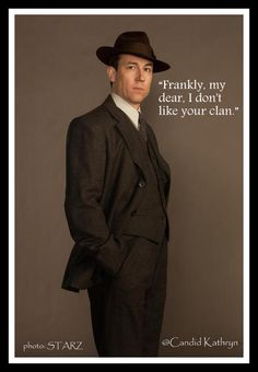 """""""Frankly, my dear, I don't like your clan"""" Outlander 